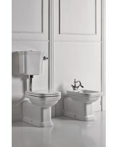 Retro Stand-WC Adlon mit halbhohem Spülkasten
