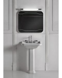 Retro Waschbecken Adlon 60 cm mit einem Hahnloch