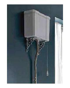 Hochhängender Spülkasten für Stand-WC  & Zubehör
