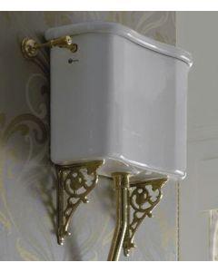Hochhängender Spülkasten für Stand-WC Palladio