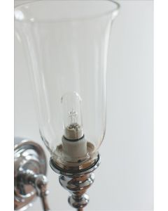 Badezimmerlampe Burlington Rose, Chrome