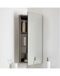 Eck-Spiegelschrank