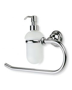 Handtuchhalter / Handtuchring Étoile mit Seifenspender