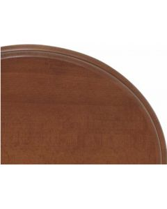 WC-Sitz mit Deckel für Stand-WC Neoclassica Kirschbaum