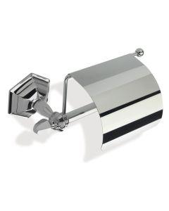 WC Rollenhalter Art Deco mit Deckel