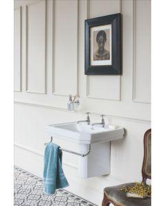Waschbecken Victorian 56 cm mit Halb-Säule