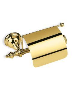 WC-Rollenhalter mit Deckel Étoile Gold