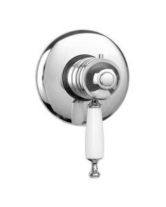 Nostalgie Thermostat-Unterputz Duscharmatur Oxford Chrom